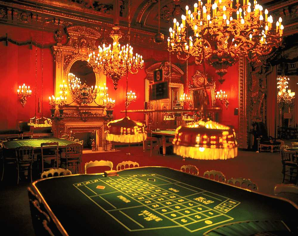 An image from inside a popular German casino