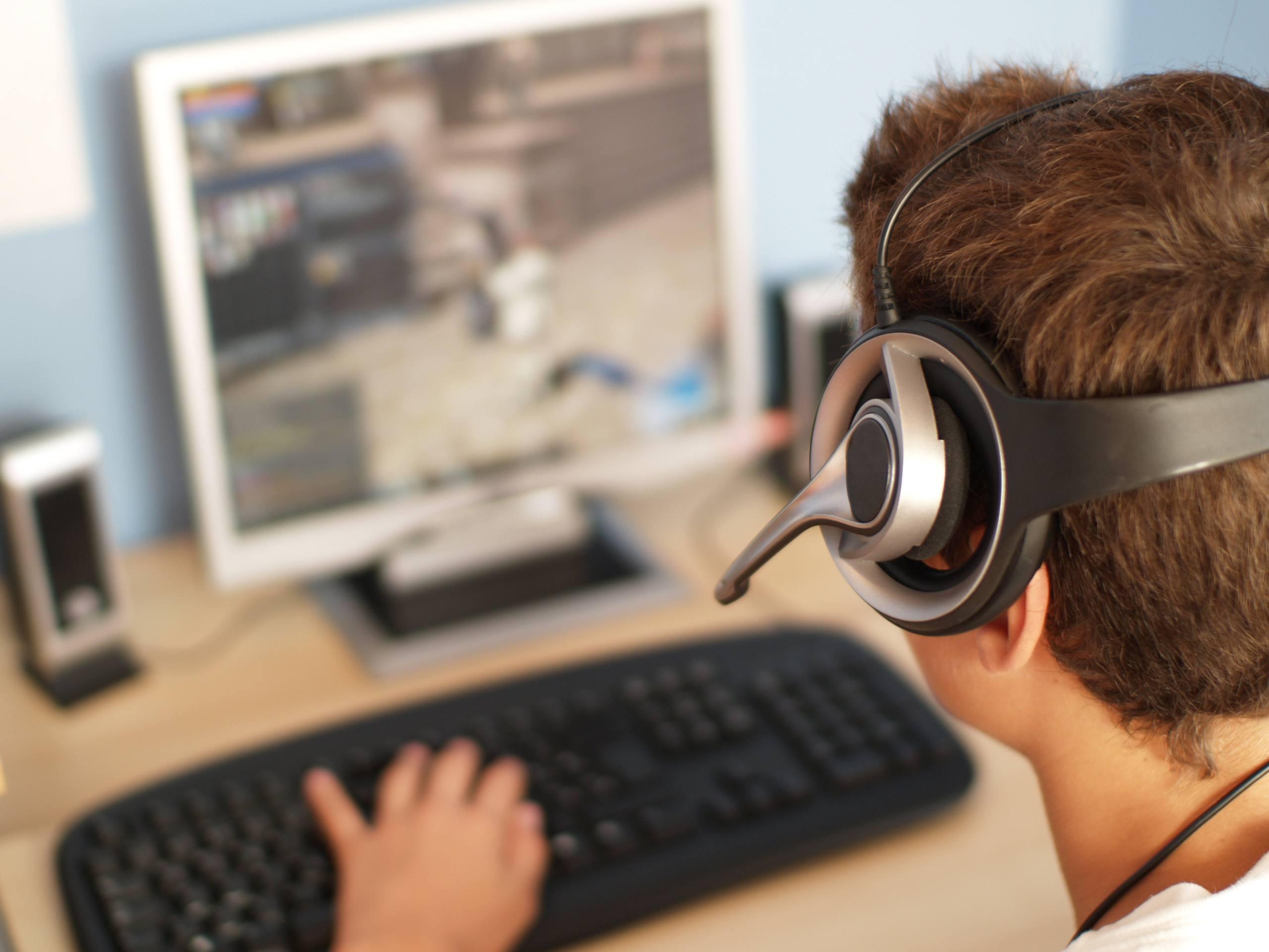Online gamer.