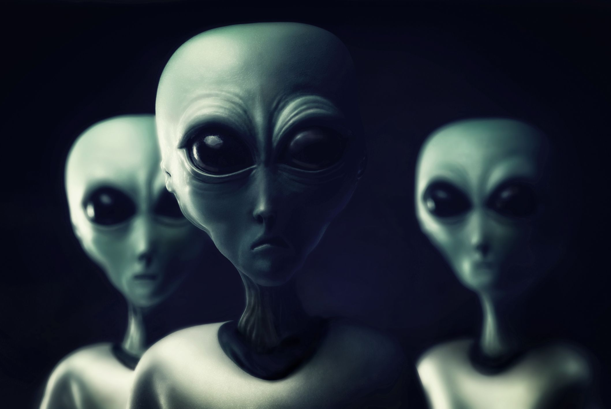 Three aliens.