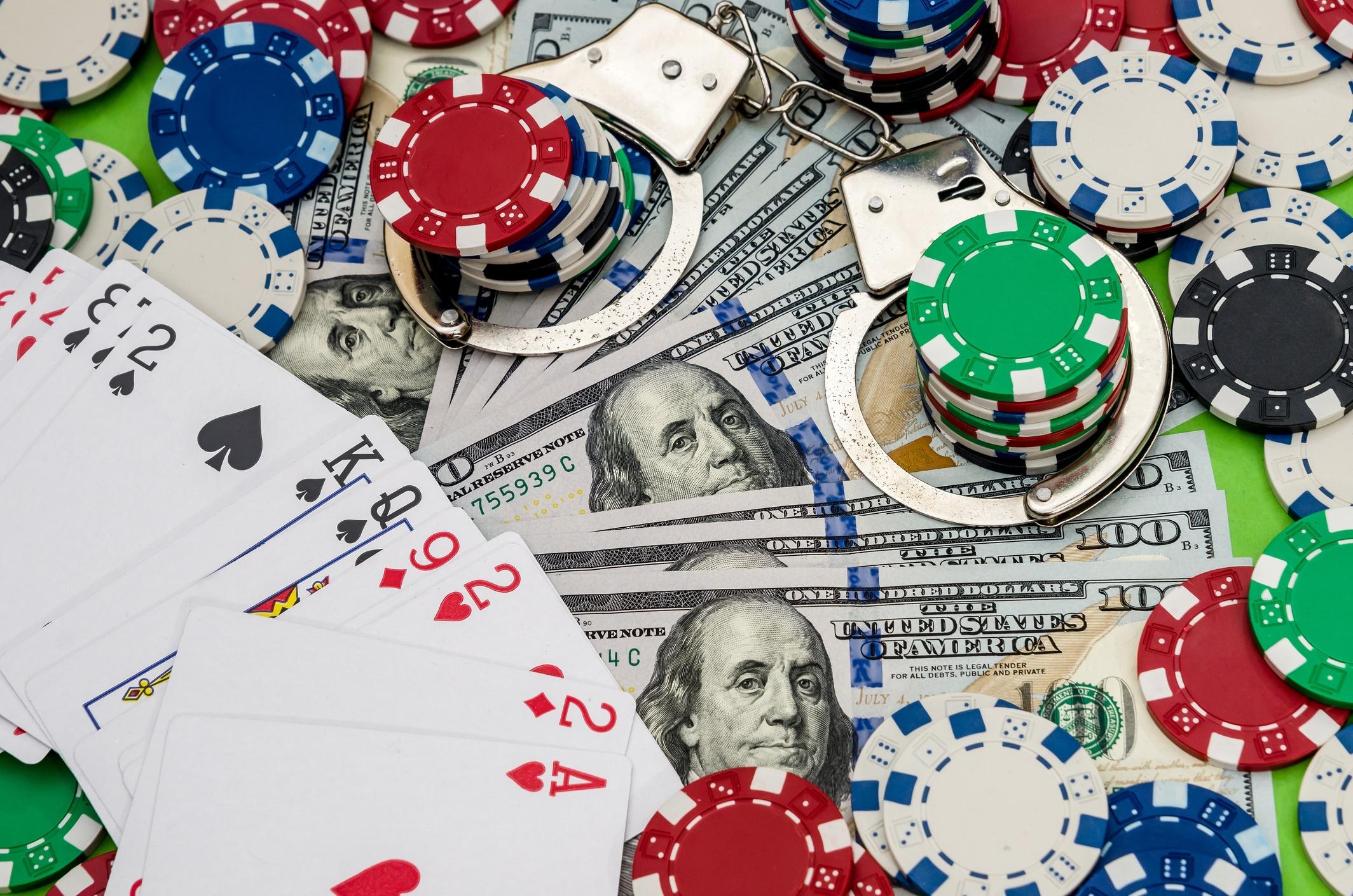 Top 10 Gamblers in Jail