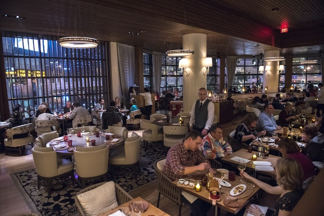 Giada restaurant at the Cromwell, a popular choice with celebrities