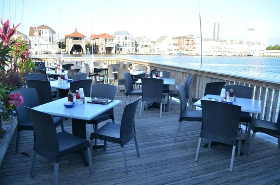 The Gilchrist Restaurant on the dock in Atlantic City