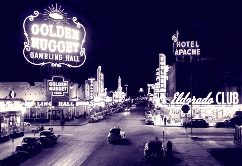 The Golden Nugget casino from the 1900's