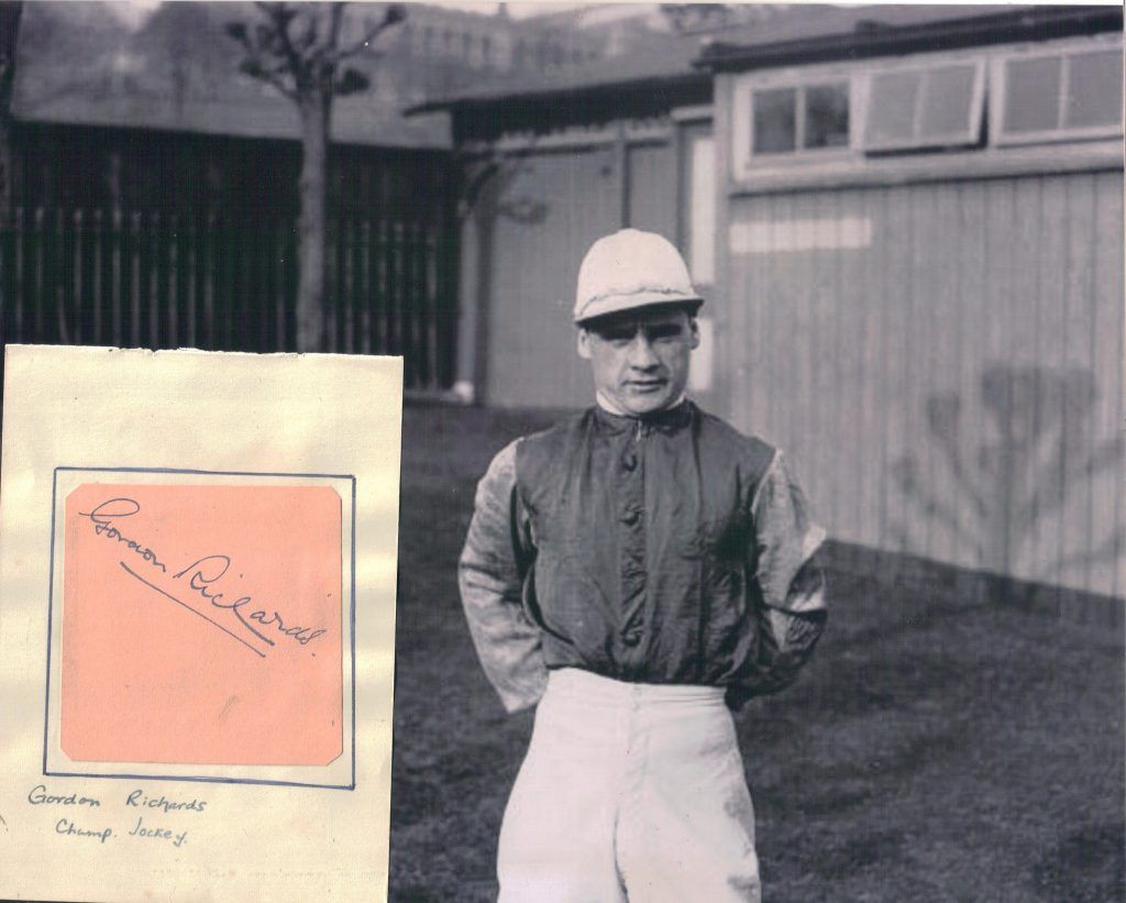 Sir Gordon Richards - jockey