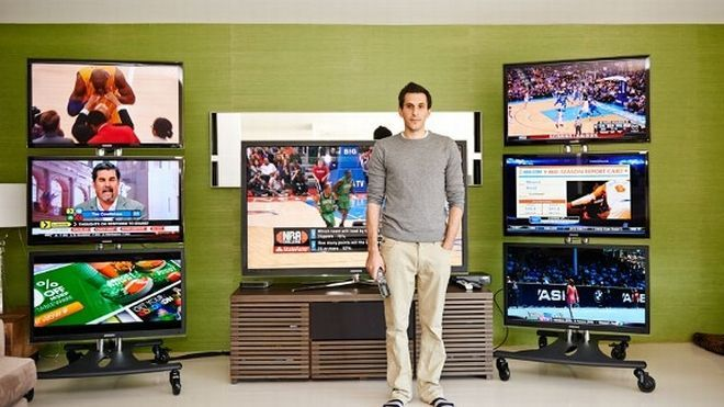 Haralabos Voulgaris, a professional NBA bettor