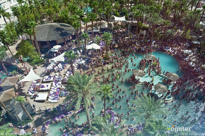 An image of a pool party from Rehab: Party at the Hard Rock Hotel