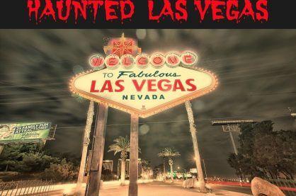 Haunted Vegas sign