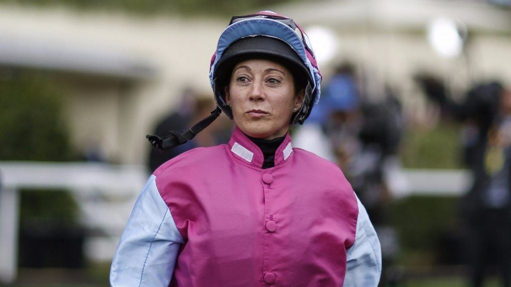 Jockey Hayley Turner