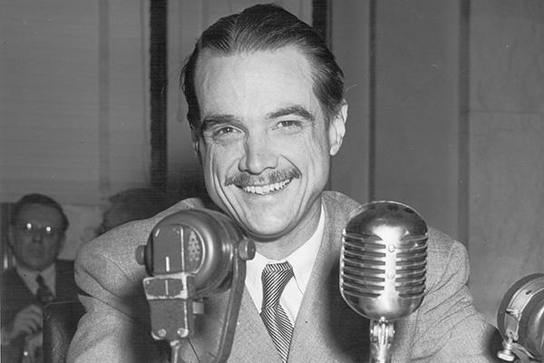 An image of the entrepreneur, Howard Hughes