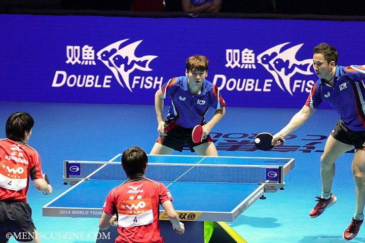 2014 ITTF World Championship Men's Doubles Champions