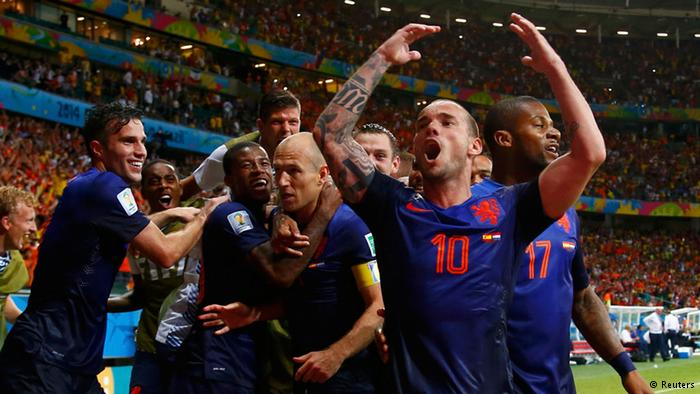 Netherlands, Spain, 2014 World Cup, Group B