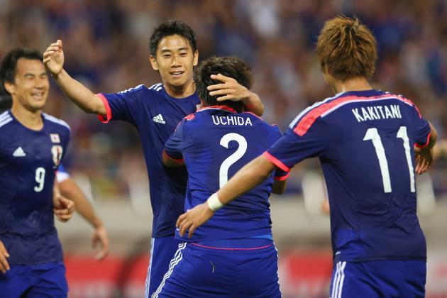 Keisuke Honda, Greece, World Cup 2014