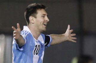 Lionel Messi is just two games away from football immortality. No biggie, then. (Image: AP).
