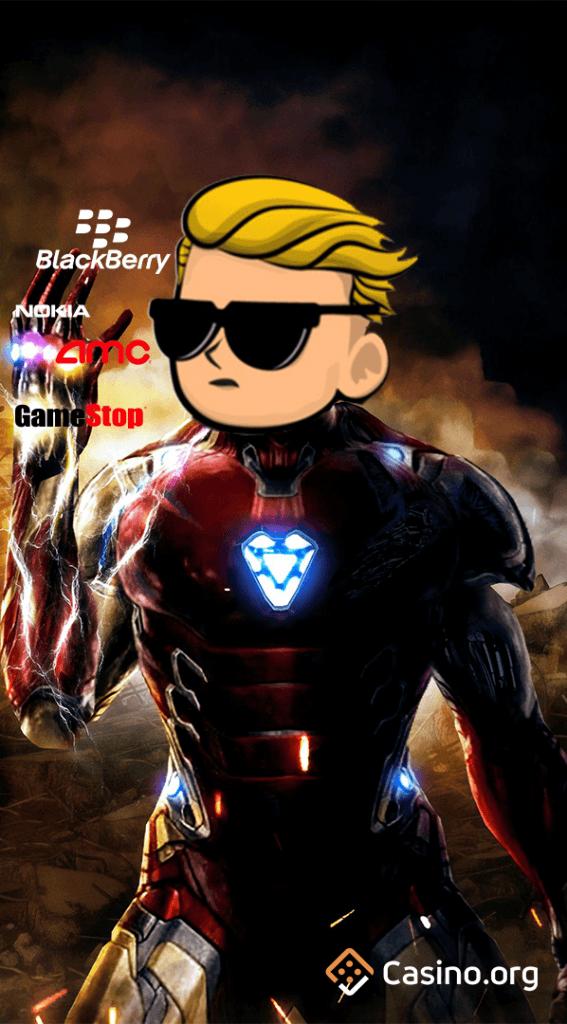 GameStop meme - iron man