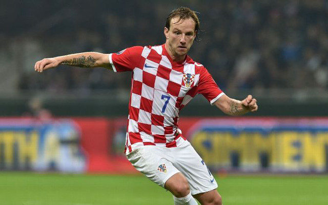 Croatia's star player, Ivan Rakitic