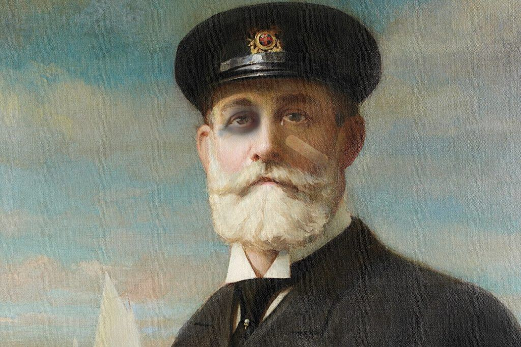 A painting of J Walter Thomspon