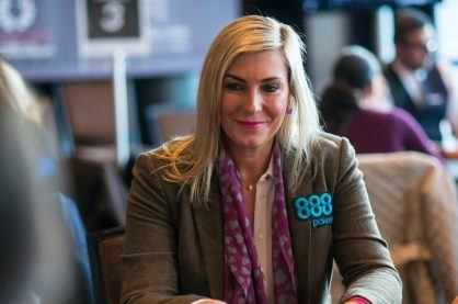 Jackie Glazier, an Australian professional poker player