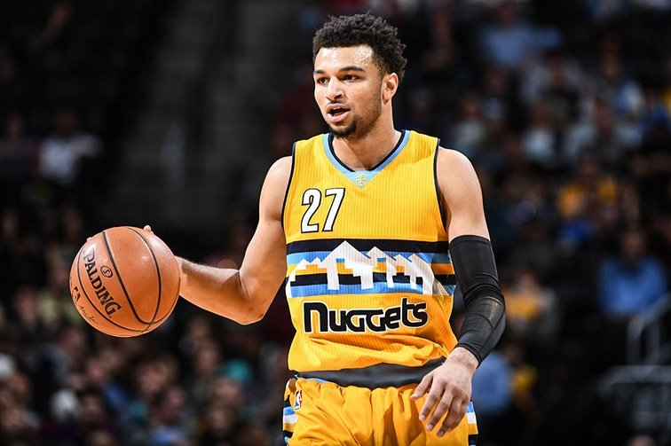Jamal Murray, NBA point/shooting guard for the Denver Nuggets