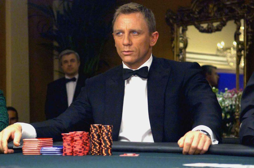 James Bond in a poker game