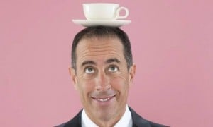 Comedian Jerry Seinfeld (Photo: Christopher Lane for the Guardian)