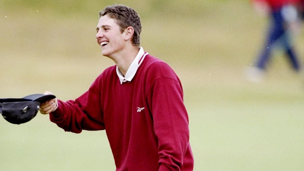 Joyful Justin Rose after securing The Open Championship