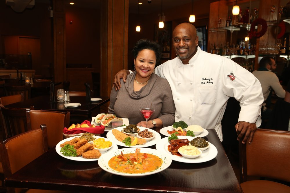 The owner and head chef of Kelsey's