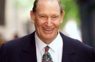 Kerry Packer, Australian media magnate, father of James Packer.