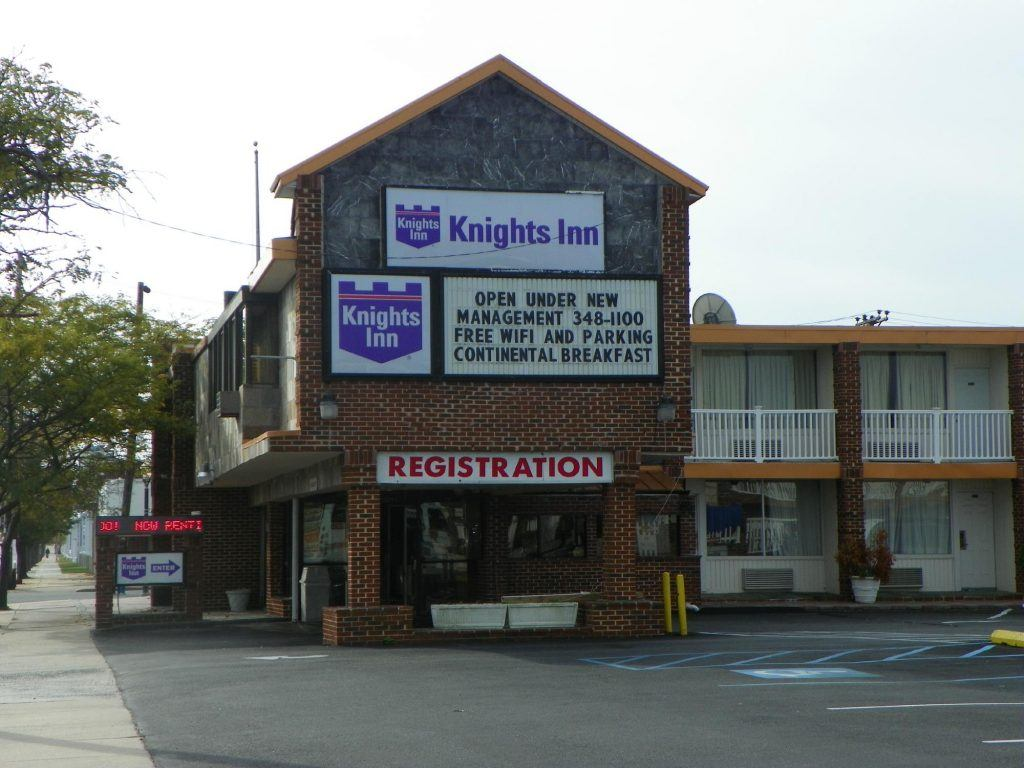 The Knights Inn Hotel in Atlantic City