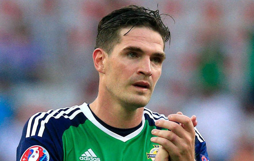 Kyle Lafferty, a professional footballer from Northern Ireland