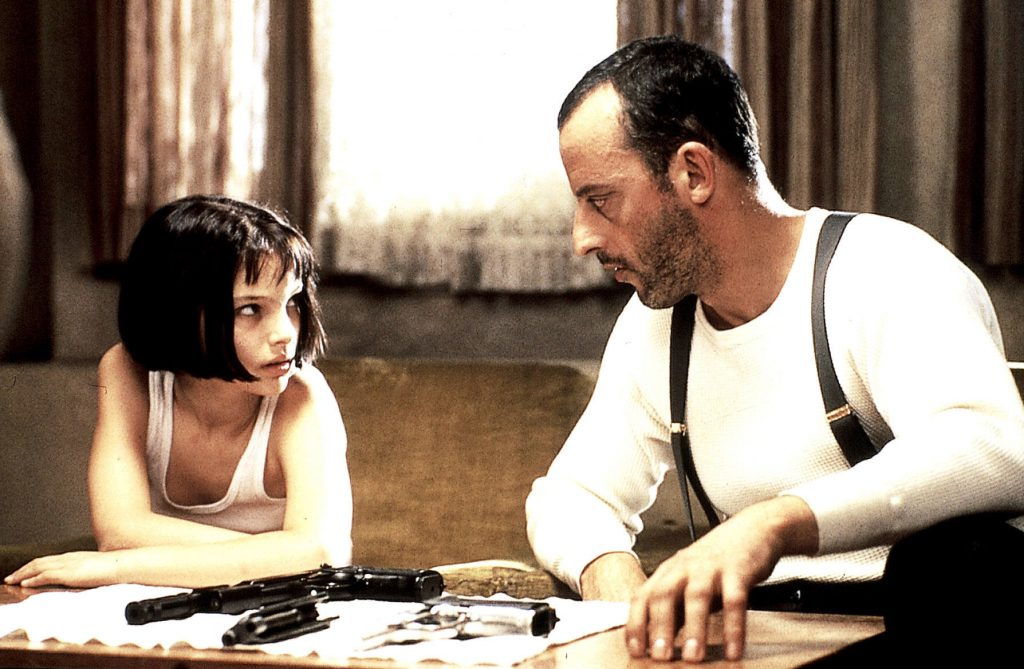 A famous scene from the film Léon, where Shape of My Heart features