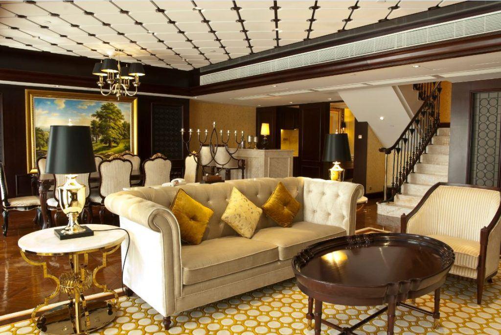 The Duplex Suite inside the L'Arc in Macau