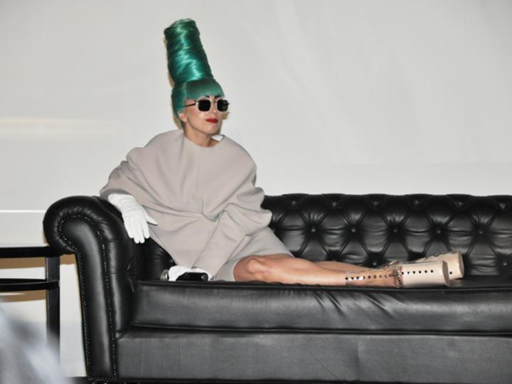 A photo of Lady Gaga, a famous music artist who previously visisted Marina Bay