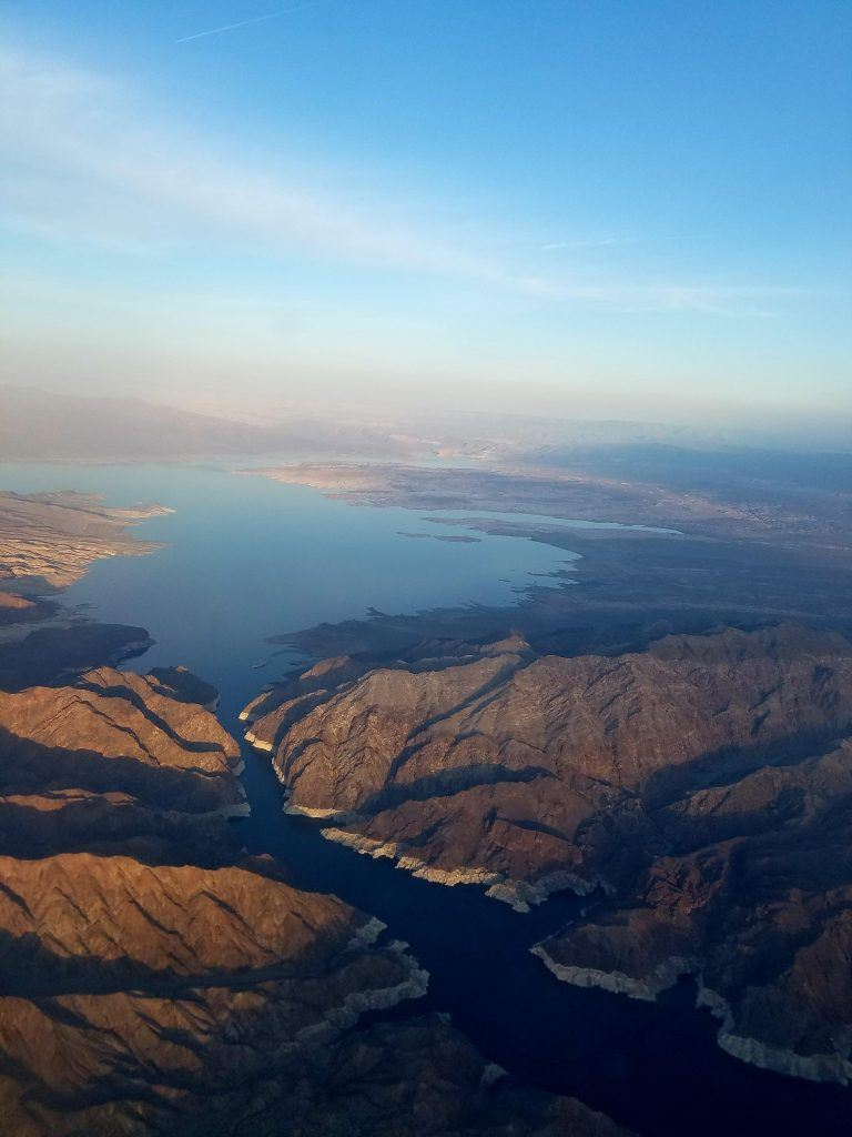 A stunning shot of Lake Meade