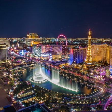 An image of Las Vegas, home to some of the best TV shows