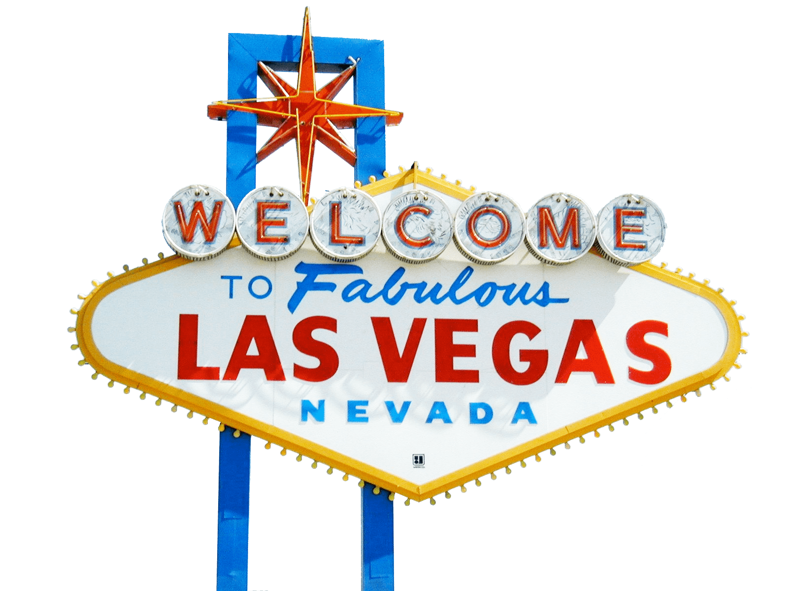 "The ""Welcome to Las Vegas"" sign"