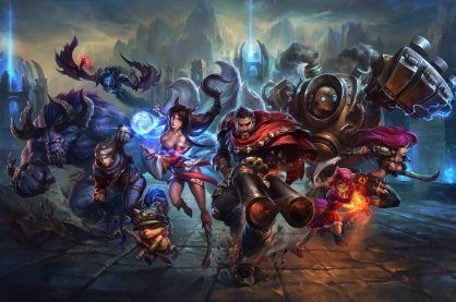 Characters from the League of Legends