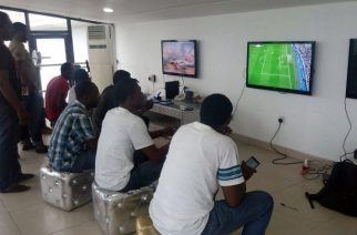 Image Credit:  Techpoint.ng Nigerian eSports fans enjoy League of Legends and FIFA