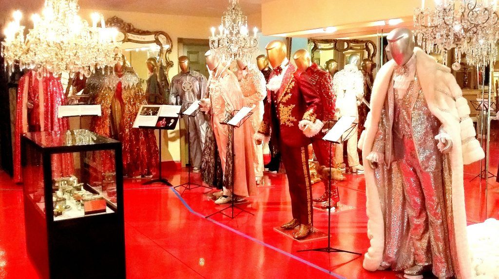 Unique outfits from the Liberace Museum