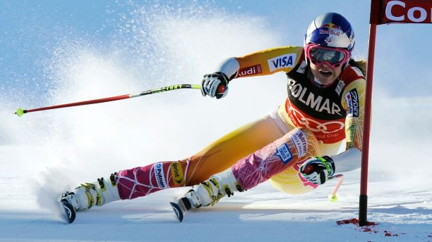 Lindsey Vonn is an alpine ski racer from the US