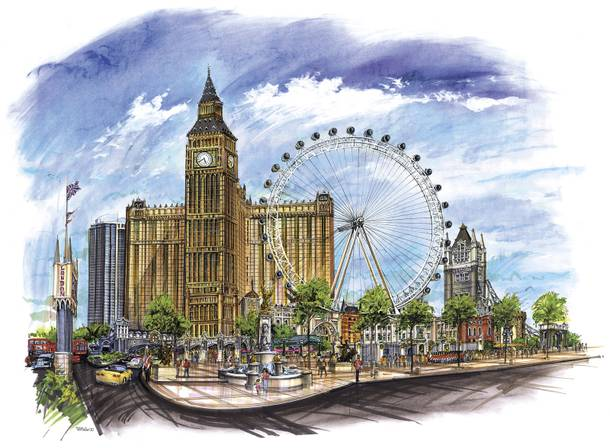 The London Resort and Casino plans for Las Vegas