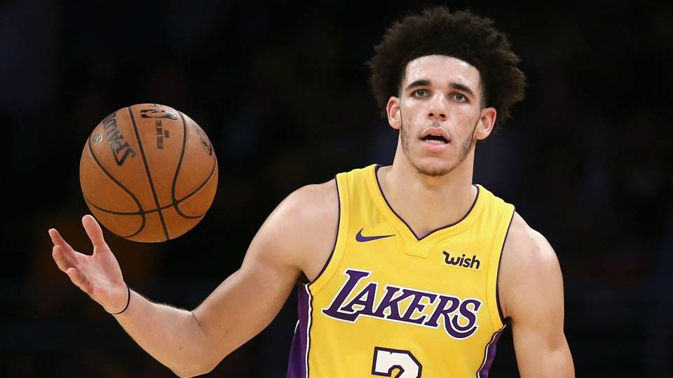 NBA prospect Lonzo Ball, point guard for the LA Lakers