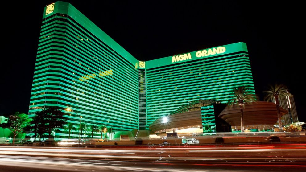 MGM Grand situated in Las Vegas, Nevada