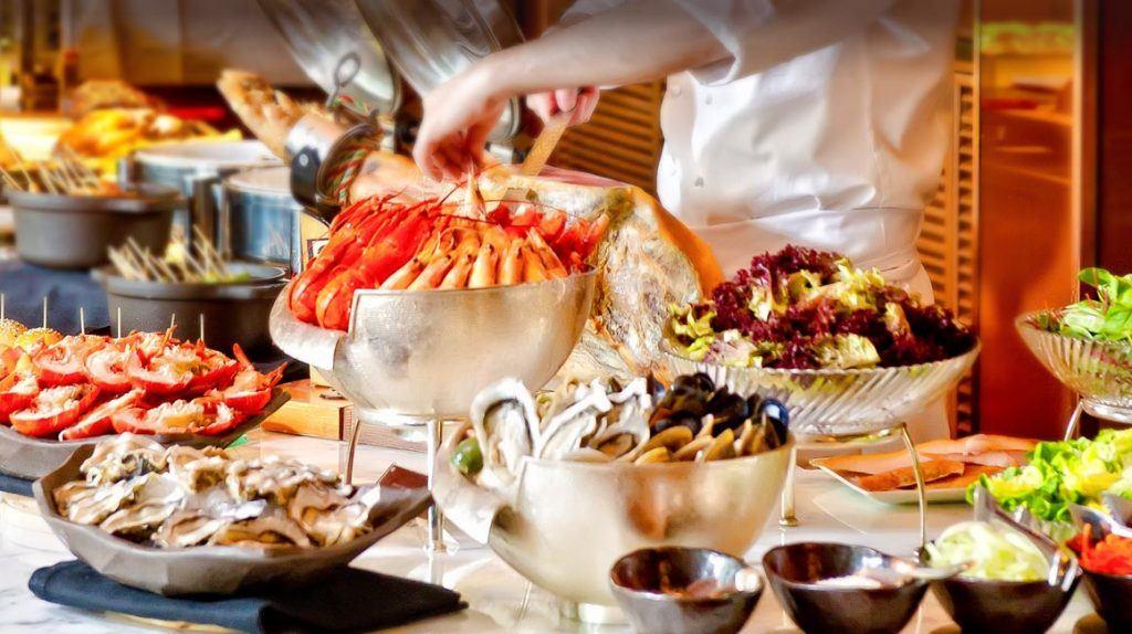 Cuisine from top hotel is Macau