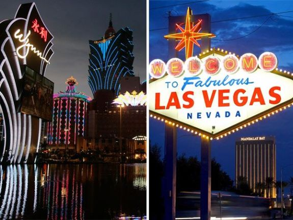 The comparisons between Macau and Vegas, the two biggest cities for gambling
