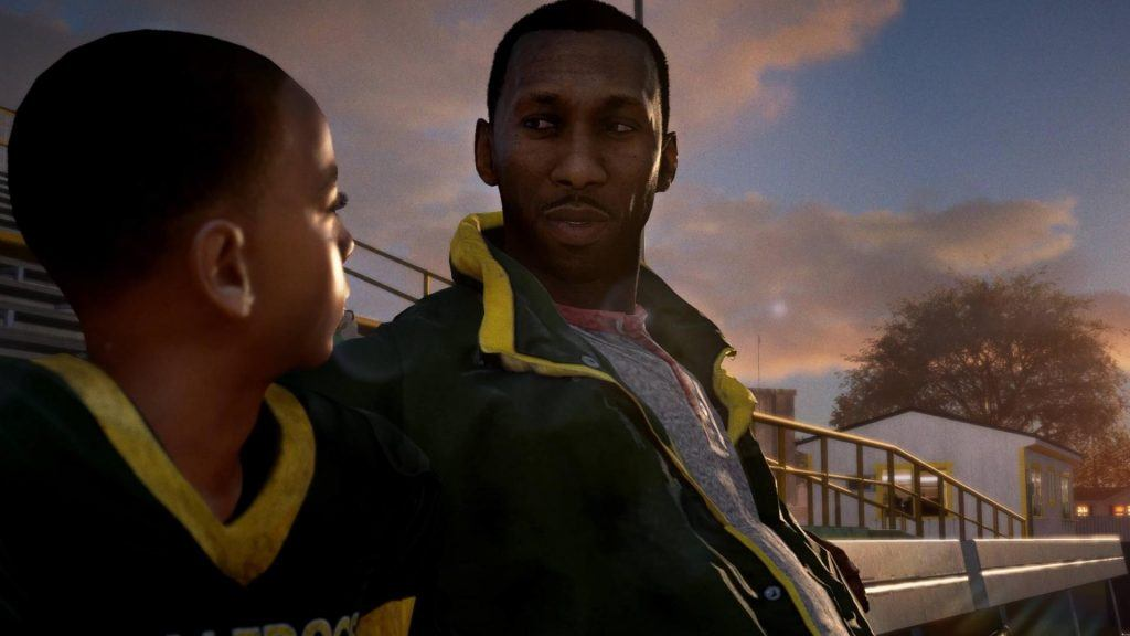 Main characters from the Madden 18 story mode