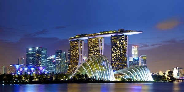 The Marina Bay Sands in Singapore