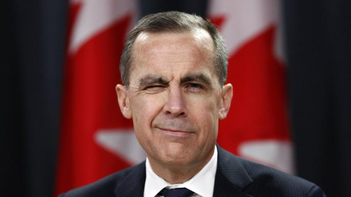 Mark Carney, Canadian economist and Governor of the Bank of England