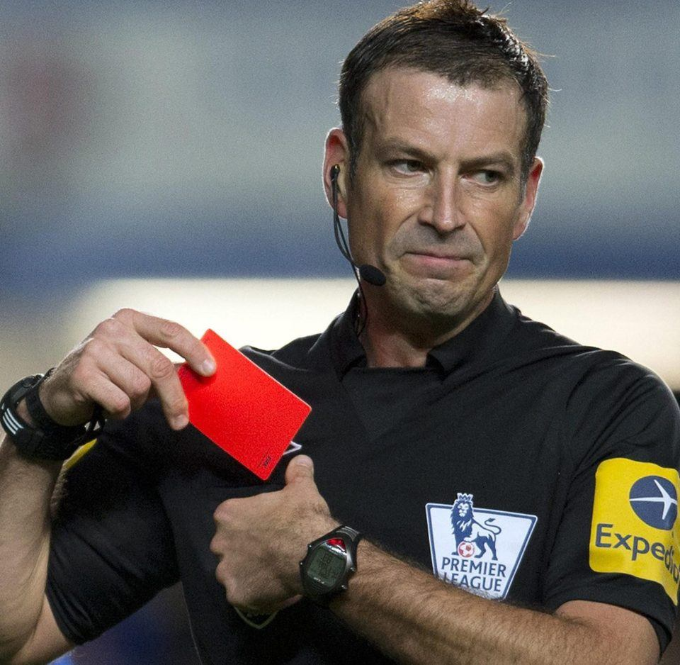 A photo of Mark Clattenburg, a famous soccer referee