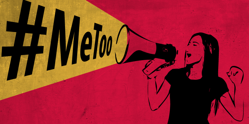 An image representing the MeToo social media campaign