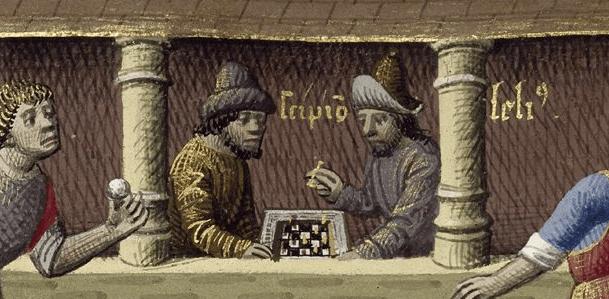 Medieval Gambling